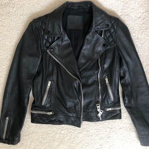 AllSaints Women's Conroy Leather Jacket